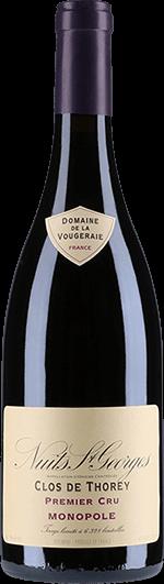 """Domaine de la Vougeraie : Nuits-Saint-Georges 1er Cru """"Clos de Thorey"""" Monopole 2016"""