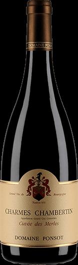 """Domaine Ponsot : Charmes-Chambertin Grand cru """"Cuvée des Merles"""" 2007"""