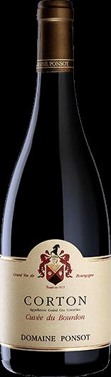 """Domaine Ponsot : Corton Grand cru """"Cuvée du Bourdon"""" 2018"""
