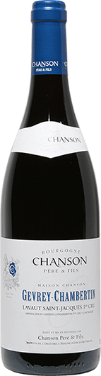 """Chanson : Gevrey-Chambertin 1er cru """"Lavaut Saint-Jacques"""" 2007"""