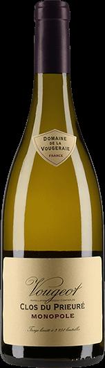 """""""Domaine de la Vougeraie : Vougeot Village """"""""Clos du Prieuré Blanc"""""""" Monopole 2018"""""""