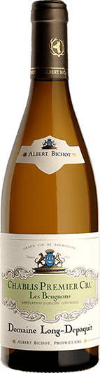"""Albert Bichot : Chablis 1er cru """"Les Beugnons"""" Dom. Long-Depaquit 2017"""