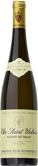 """""""Domaine Zind-Humbrecht : Riesling Grand cru """"""""Clos Saint Urbain Rangen de Thann"""""""" Sélection de Grains Nobles 1998"""""""