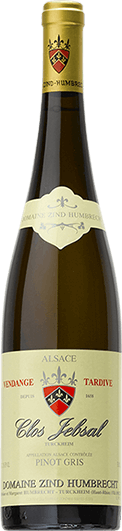 """Domaine Zind-Humbrecht : Pinot Gris """"Clos Jebsal"""" Vendanges tardives 1998"""