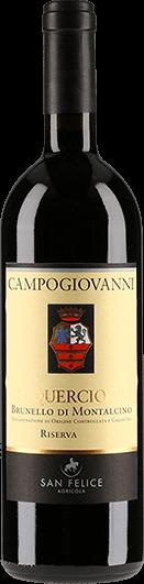 San Felice : Campogiovanni Il Quercione Riserva 2007