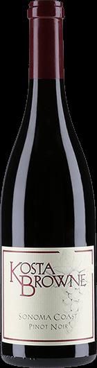 Kosta Browne Winery : Sonoma Coast Pinot Noir 2018
