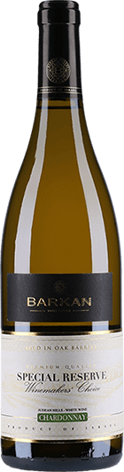 Barkan Winery : Special Reserve Chardonnay 2016