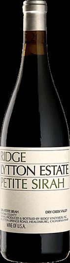 Ridge Vineyards : Lytton Estate Petite Sirah 2017