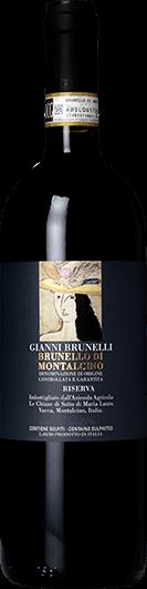 Gianni Brunelli : Brunello di Montalcino Riserva 2015