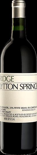 Ridge Vineyards : Lytton Springs Zinfandel 2019