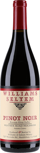 Williams Selyem : Westside Road Pinot Noir 2018