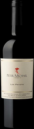 """Peter Michael Winery : """"Les Pavots"""" Estate Cabernet Sauvignon Blend 2018"""