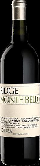 Ridge Vineyards : Monte Bello 2018