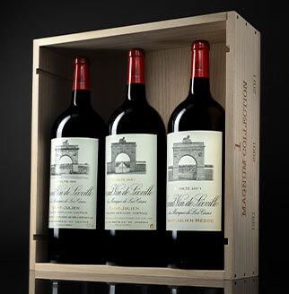 Château Léoville Las Cases : Coffret Magnum Collection 1