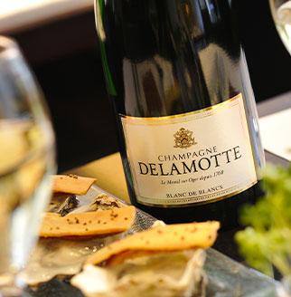 Champagne Delamotte : Blanc de Blancs