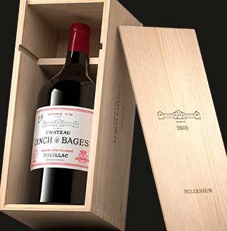 Château Lynch-Bages : Coffret Millenium 2000