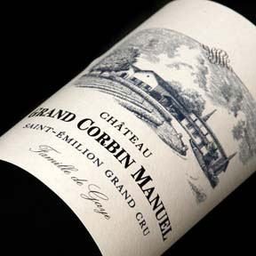 Chateau Grand Corbin Manuel 2010 - 0