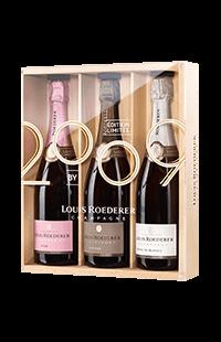 Louis Roederer : Coffret 3 Vintages 2009