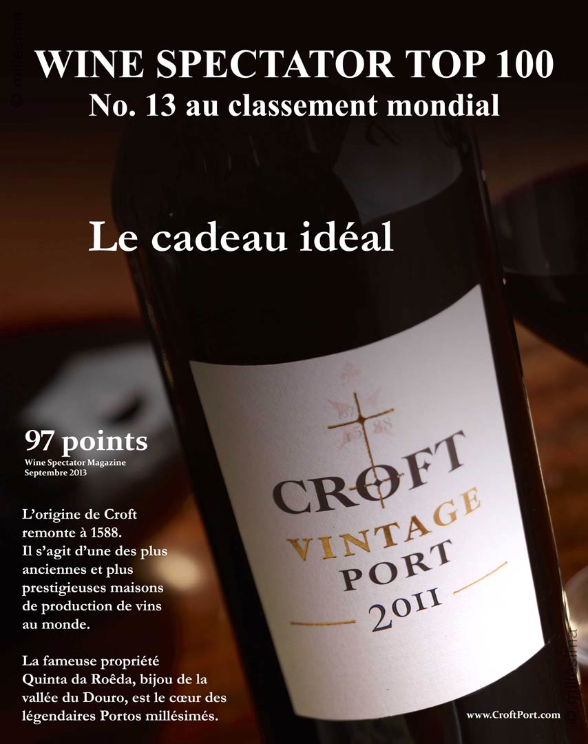 Croft : Vintage Port 2011 - 0