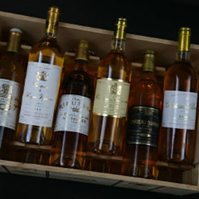 Sauternes 1ers crus classes tasting case 2001 - 7