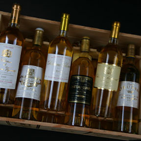 Sauternes 1ers crus classes tasting case 2001 - 15