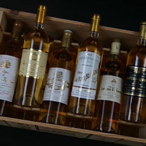 Sauternes 1ers crus classes tasting case 2001 - 9