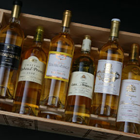 Sauternes 1ers crus classes tasting case 2001 - 5