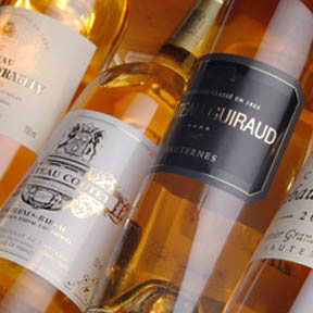 Sauternes 1ers crus classes tasting case 2001 - 3
