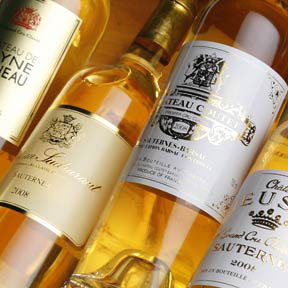Sauternes 1ers crus classes tasting case 2001 - 0