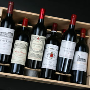 Left Bank / Right Bank tasting case 2000 - 25