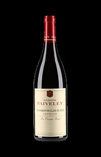 """Faiveley : Chambertin-Clos de Bèze Grand cru """"Les Ouvrées Rodin"""" Domaine 2016"""