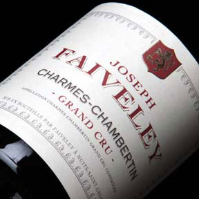 Faiveley : Charmes-Chambertin Grand cru J. Faiveley 2013 - 0