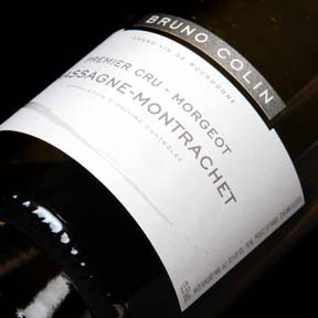"Bruno Colin : Chassagne-Montrachet 1er cru ""Morgeot"" 2015 - 0"