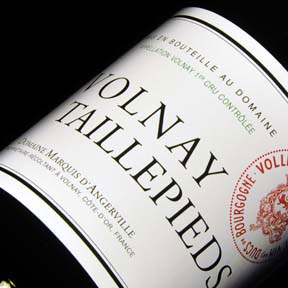 "Domaine Marquis d'Angerville : Volnay 1er cru ""Taillepieds"" 2012 - 0"