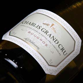 "La Chablisienne : Chablis Grand cru ""Bougros"" 2012 - 0"