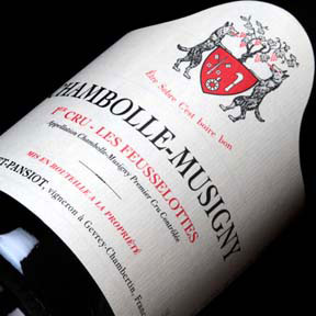 """Geantet-Pansiot : Chambolle-Musigny 1er cru """"Les Feusselottes"""" 2014 - 0"""
