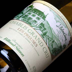 "Billaud-Simon : Chablis Grand cru ""Les Preuses"" 2013 - 0"