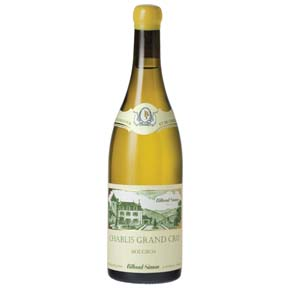 "Billaud-Simon : Chablis Grand cru ""Bougros"" 2015 - 0"