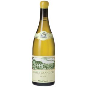 "Billaud-Simon : Chablis Grand cru ""Valmur"" 2015 - 0"