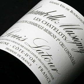 "Louis Latour : Chambolle-Musigny 1er cru ""Les Chatelots"" 2012 - 0"