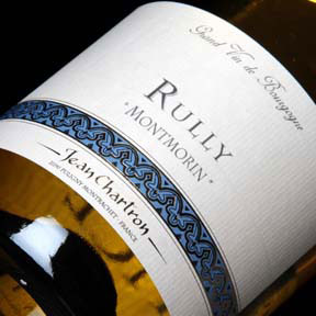 "Jean Chartron : Rully Village ""Montmorin"" 2016 - 0"