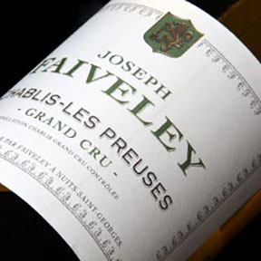 "Faiveley : Chablis Grand cru ""Les Preuses"" J. Faiveley 2013 - 0"