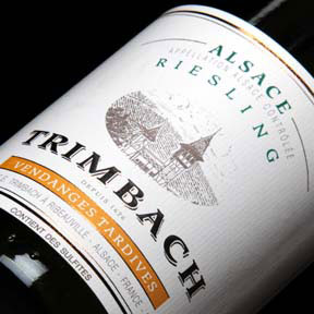 Maison Trimbach : Riesling Vendanges tardives 2002 - 0