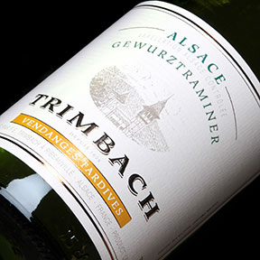 Maison Trimbach : Gewurztraminer Vendanges tardives 2001 - 0