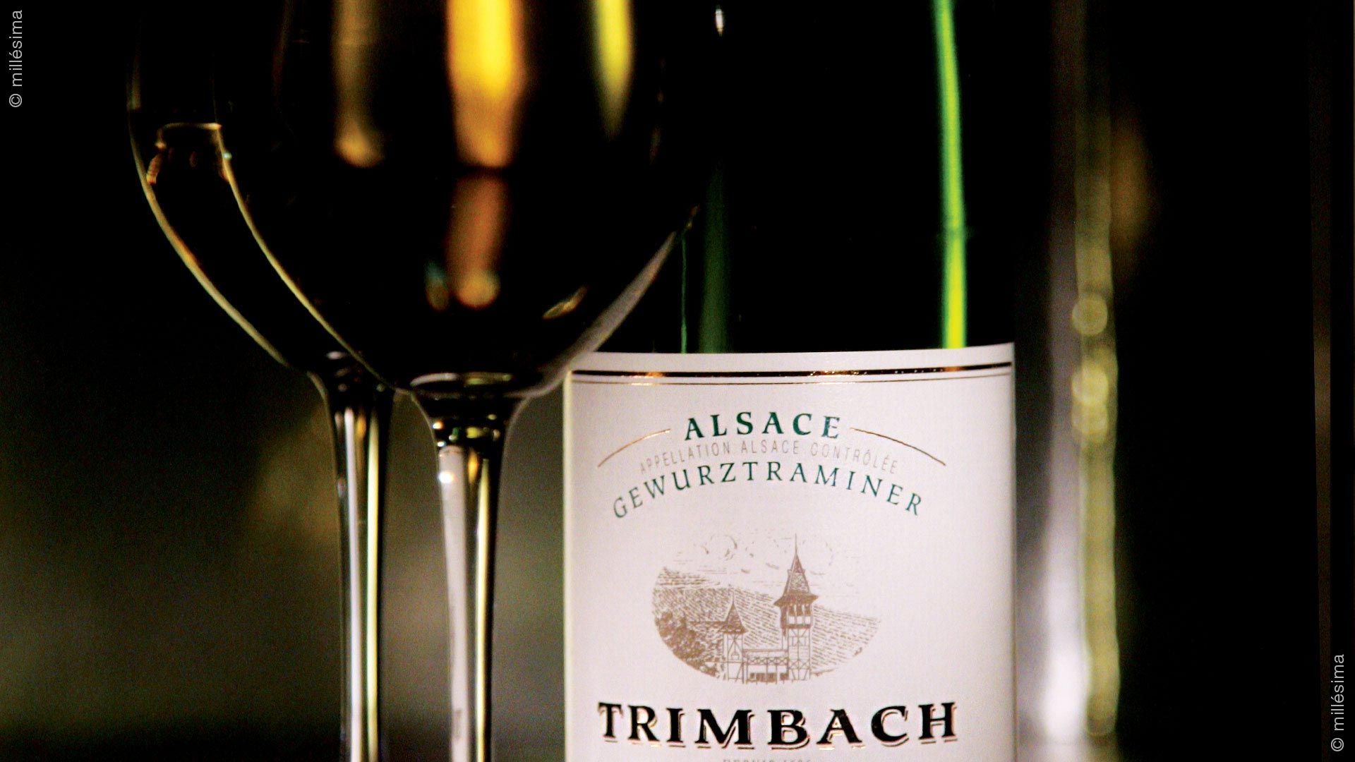 Maison Trimbach : Gewurztraminer Vendanges tardives 2008 - 1
