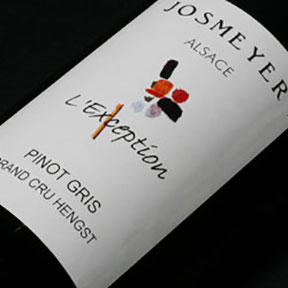 "Josmeyer : Pinot Gris Grand cru ""Hengst L'Exception"" 2000 - 0"