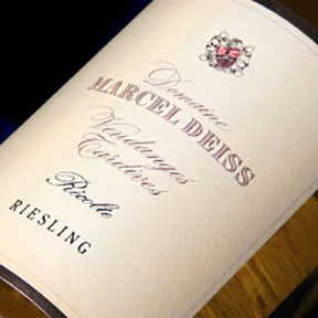 Domaine Marcel Deiss : Riesling Vendanges tardives 2009 - 0
