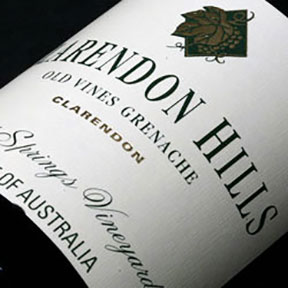 Clarendon Hills : Grenache Old Vines Blewitt Springs Vineyard 2001 - 0