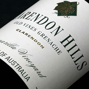Clarendon Hills : Grenache Old Vines Kangarilla Vineyard 2001 - 0
