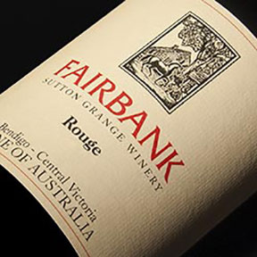 Sutton Grange Winery : Fairbank Rouge 2012